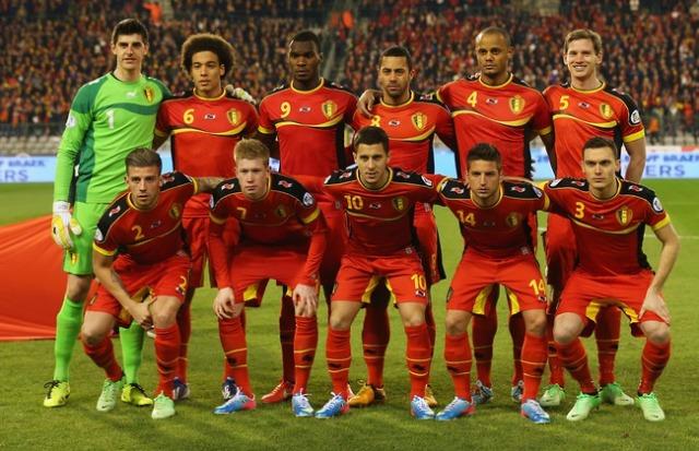 Belgium 2014 World Cup Squad